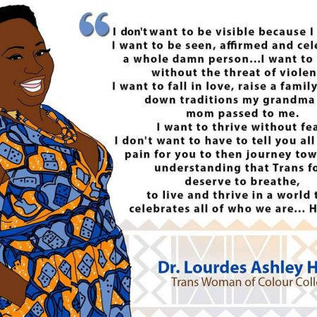 Lourdes Ashley Hunter quote
